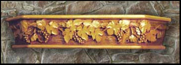 Grape Vine Mantel