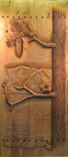http://www.carvedbyramsey.com/Blue-Jay-Squirrel-Door-Lg_.jpg