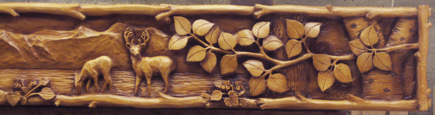 Achieving excellence in relief carving woodcarving