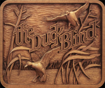 Custom Hand Carved Sign