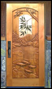 Fish River Carved Door