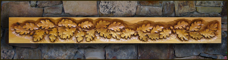 Carved By Ramsey Wood Fireplace Mantels