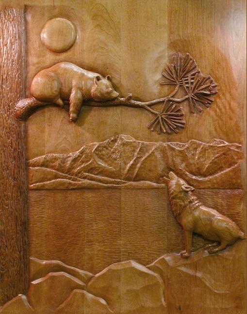 http://www.carvedbyramsey.com/Wolf-Bear-Doors-Lg_.jpg