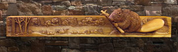 carved-mantel-beaver